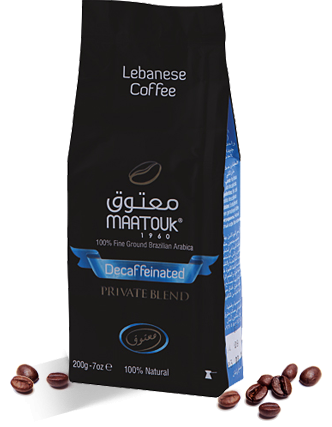 Maatouk Private Blend Decaffeinated
